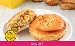 Buy 2 Get 1 Free on Large Puffs ($5.20) at Kopi & Tarts via Fave