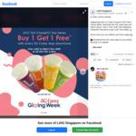 Buy 1 Get 1 Free on CheezHO Tea Drinks at LiHO (SG Cares App Download + Facebook/Instagram/Telegram Required)
