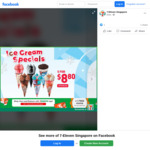 5x Cornetto Ice Cream Varieties for $8.80 (U.P. $13) at 7-Eleven