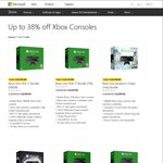 Up to 38% off Xbox One Consoles - Xbox One Bundles 500GB $309, 1TB $359 Delivered