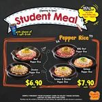 Pepper Lunch - Student Meals: $6.90, $7.90, $9.90 Deals