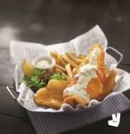 1 for 1 Manhattan Fish Market Salmon Belly 'n Chips ($19.26 for 2 sets) + $1 Delivery Via Deliveroo