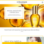Free 3-Day Divine Youth Oil Trial Kit/Sample from L'Occitane (Collect In-Store)