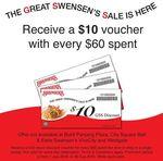 Swensen's - Bonus $10 Voucher with Every $60 Spent