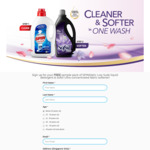 Free Sample Pack of SPINMatic Low Suds Liquid Detergent & Sofsil Ultra Concentrated Fabric Softener Delivered from UICCP