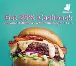 25% Cashback on All Deliveroo Orders (Singtel Dash)