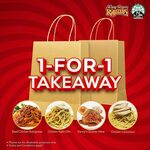 1-for-1 Takeaway Pasta/Rotisserie Chicken at Kenny Rogers