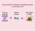 Win 1 of 44 $100 Credits from Singtel Dash
