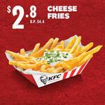 Cheese Fries for $2.80 at KFC via Lazada
