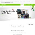 Free StarHub Go 30 Day Trial