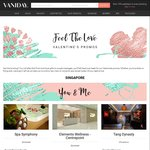 Vaniday Valentine's Day Promotion - 30% off Any Bookings (New Customers Only, $20 Capped Discount)