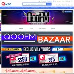 Qoo10 Coupons - $5 off When You Spend $25, $50 off When You Spend $250