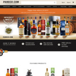 $8 off Orders over $200 for Online Alcohol at Paneco - Free Next Day Delivery