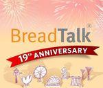 5 Buns for $7 (E-Voucher) at BreadTalk