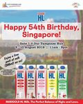 Free Pack of HL Milk 200mL from MARIGOLD/Our Tampines Hub