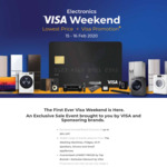 [VISA Exclusive Promo] Exclusive Discount of Up to 50% OFF For TVs, Washers, Fridges, and Aircons For 2 Days Only From 15-16 Feb