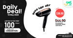 $36.90 PANASONIC 1800W Hair Dryer at Changi Recommends (UP $44.90)