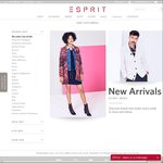Esprit Black Friday Sale - 50% off Every Second Item Purchased
