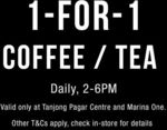 1 for 1 Coffee and Tea at Kraftwich (2pm to 6pm Daily, Tanjong Pagar Centre + Marina One)