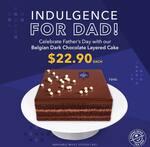 Belgian Dark Chocolate Layered Cake $22.90 from Coffee Bean
