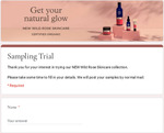 Free Neal's Yard Remedies Wild Rose Skincare Collection Samples Delivered from Simple Wellness