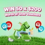 Win 1 of 50 $200 Grab Vouchers from Ugift