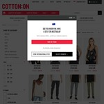 Cotton On - GSS Up to 50% Off: Womens and Mens Clothing From $5 Typo from $1