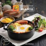 $18 off (New Customers) or $5 off (Existing Customers) at Miam Miam French Japanese Cafe Kitchen via honestbee Food