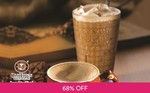 Cup of Coffee for $0.99 at OldTown White Coffee via Fave by Groupon