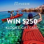 Win a $250 Klook e-Gift Card from Fuzzie
