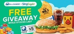 Free $5 off $10+ Coupon, Burger King Set or Hot Star Large Fried Chicken Set at Qoo10 ($50 Minimum Spend)