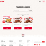 Hot Blaze Grilled Chicken for $2.50 (U.P. $5.95) with Meal Purchase at KFC