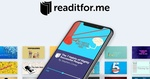 Free: 12 Months Subscription to Readitfor.me (U.P. $110) @ Appsumo