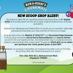 3 Pints for $29 (3 for 2) at Ben & Jerry's New Scoop Shop (VivoCity)