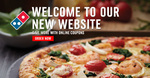 Regular Pizzas for $9.90 at Domino's