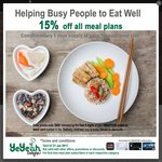 15% off Meal Plans at YeYeah Delights (DBS Cardholders)