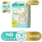 Pampers Diapers 70 pcs $13.95 50% Off @ Redmart via Lazada