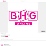 $100 BHG eCard for $95 at Fave