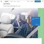 $3 off UberX and UberPOOL Rides