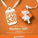 Spend $30 and Receive a Mystery Gift at Guardian (Tai Seng)