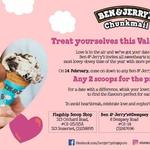 Valentine's Day: 2 Scoops for The Price of 1 at Ben & Jerry's