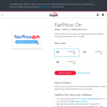 10% off FairPrice ON Gift Cards at Giftany
