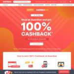 100% Cashback (up to $10) at Guardian (ShopBack GO)
