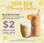 $2 Small Cafe Latte at The Coffee Bean & Tea Leaf (Chang Alley Mall, Until 11am Daily)