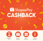2% Cashback with Offline ShopeePay Payments