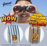 Buy a Large Bag, Get a 2nd Large Bag for $3.50 at Garrett Popcorn Shops