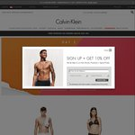 Calvin Klein 12.12 Promotion - Selected Underwear + Sleepwear at $12 with Free Shipping