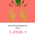 1 for 1 Offers on All Drinks/Beverages at Starbucks (3rd to 7th April) for Starbucks Cardholders