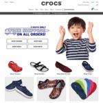 Free Shipping at Crocs (No Minimum Spend)