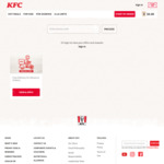 Free Delivery for Advanced Orders Above $40 at KFC Delivery (Deliveries on 31st Dec & 1st Jan)